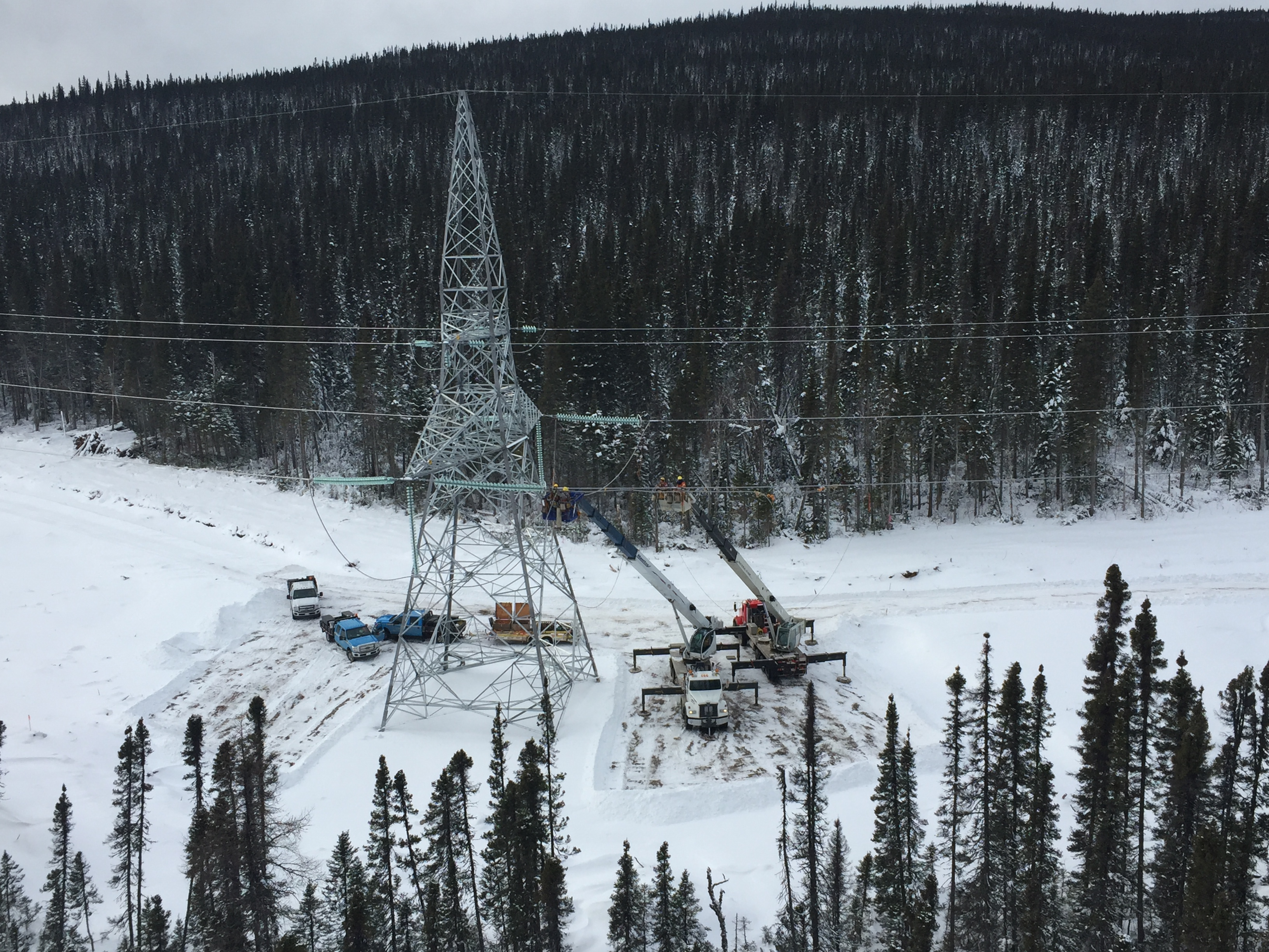 Construction of the Labrador-Island Link underway in Labrador