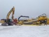 Horizontal directional drilling equipment in the Strait of Belle Isle NL_Winter 2013