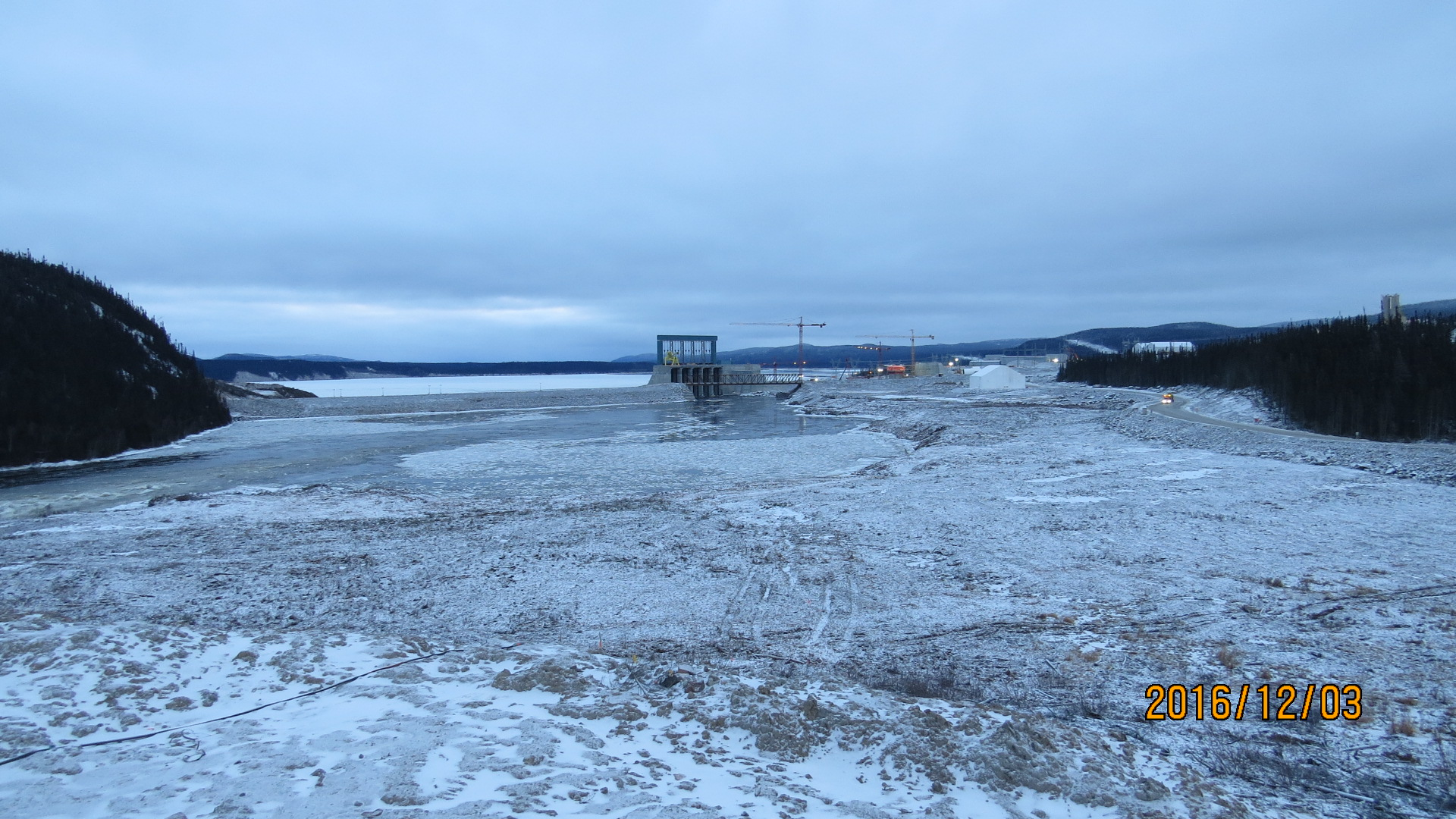 Churchill River and Spillway