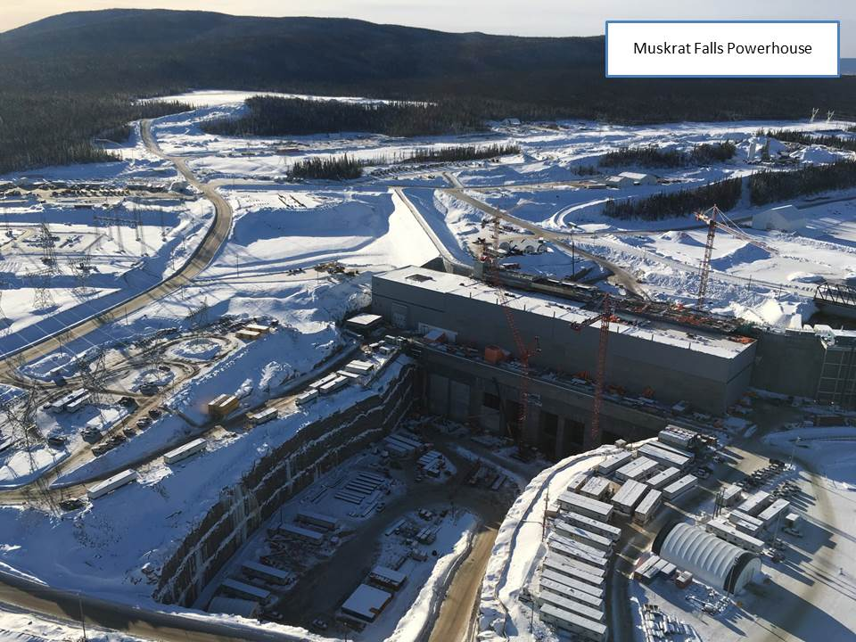 Muskrat Falls Powerhouse