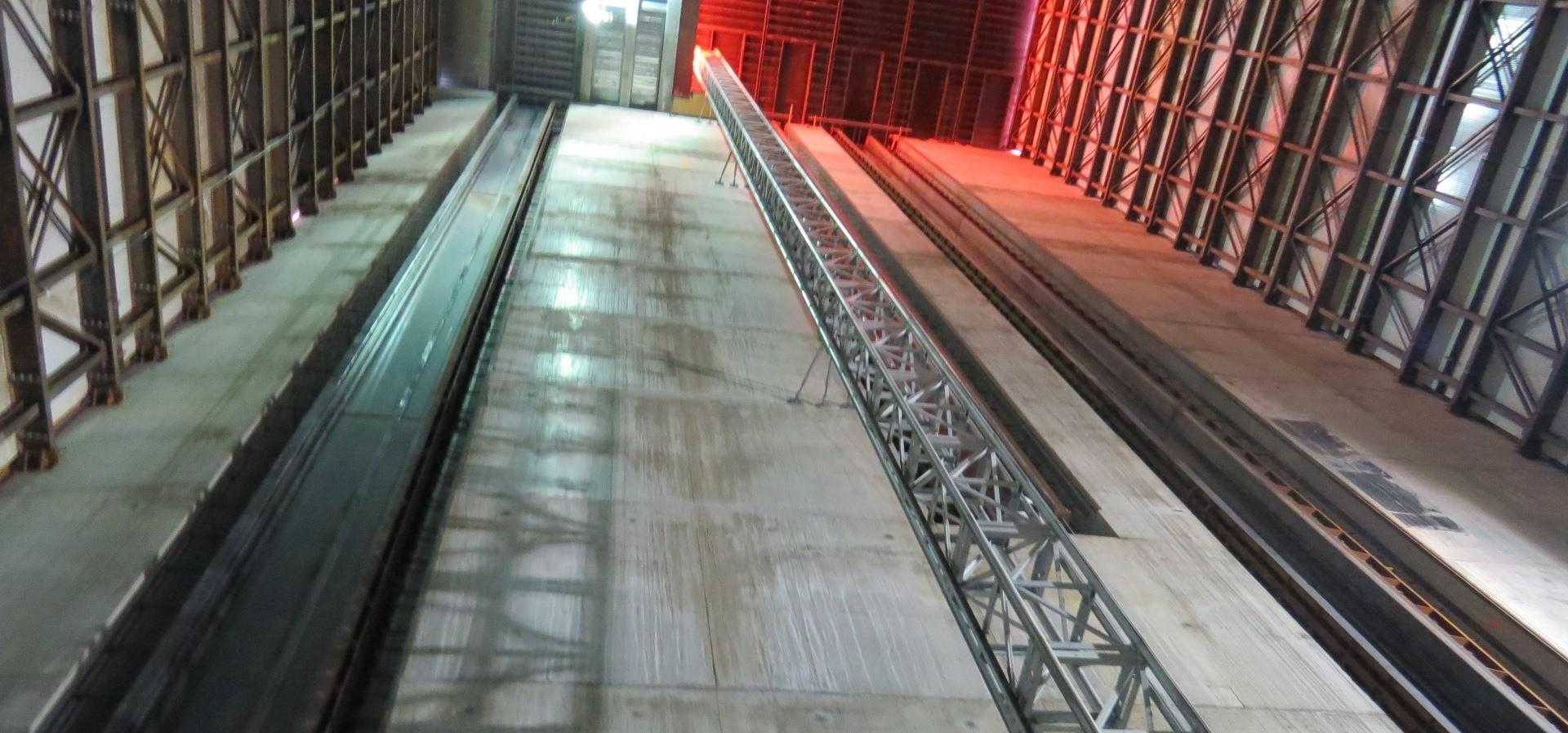 Spillway Interior