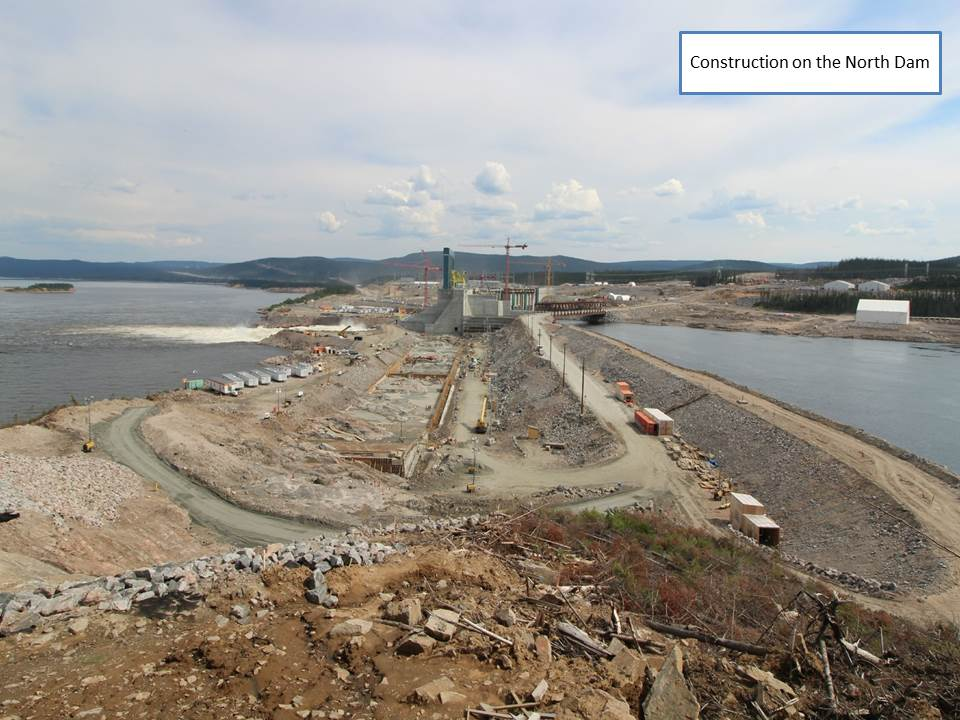 North Dam Construction
