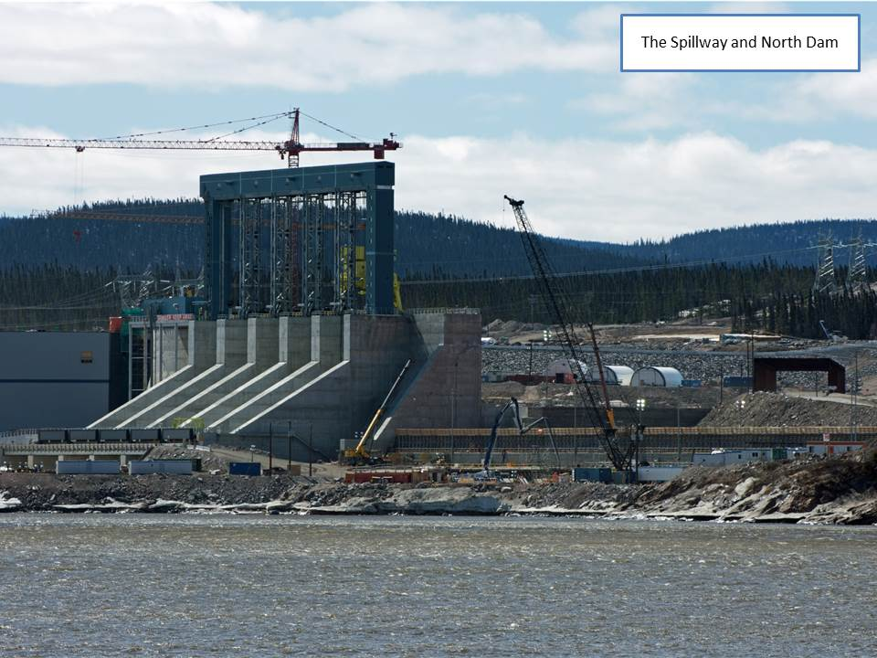 The Spillway and North Dam