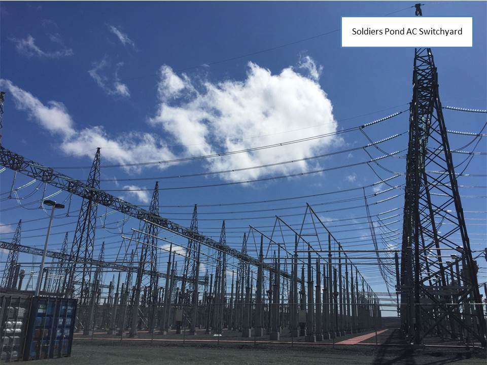 AC Switchyard at Soldiers Pond