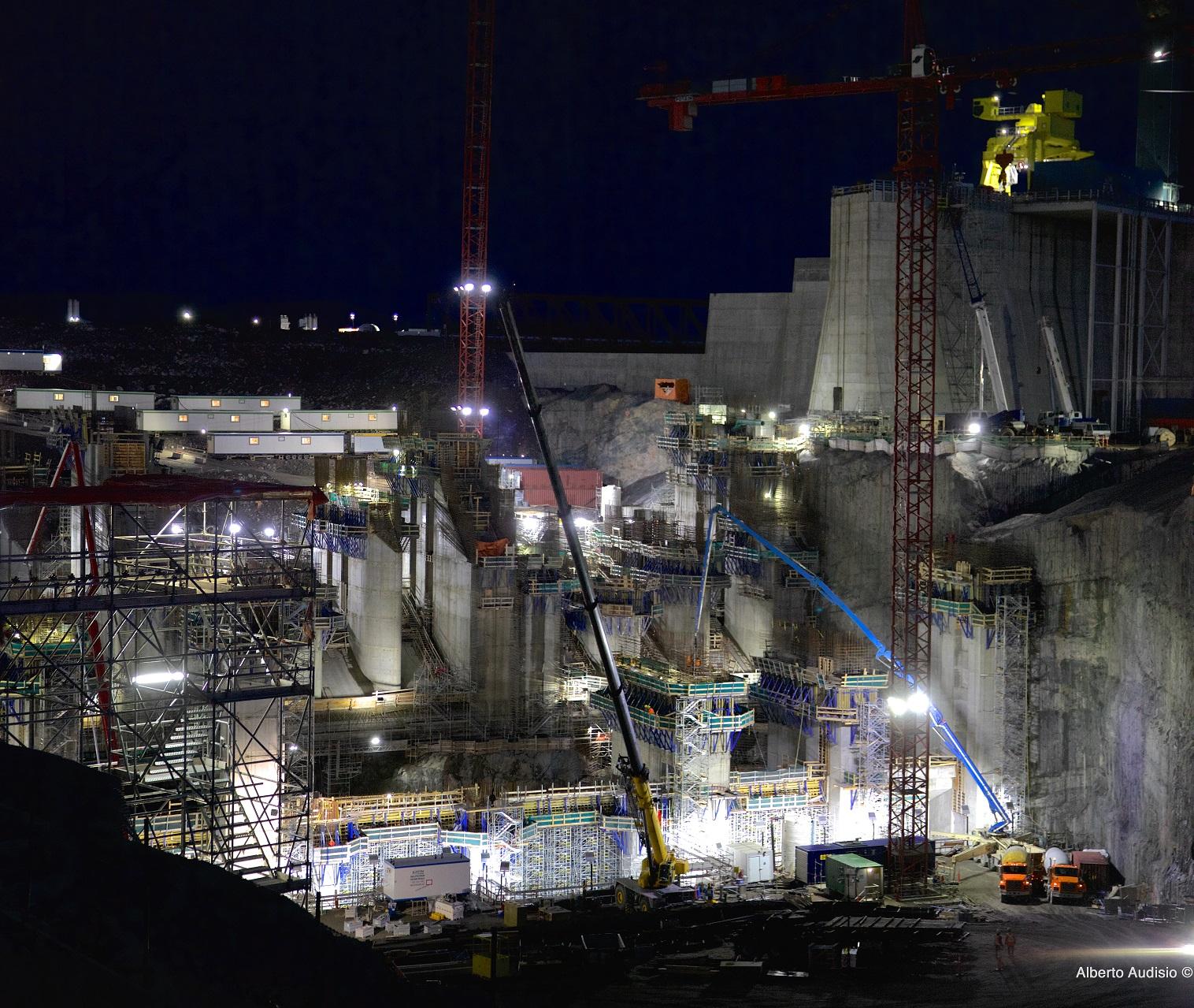 Powerhouse at Night
