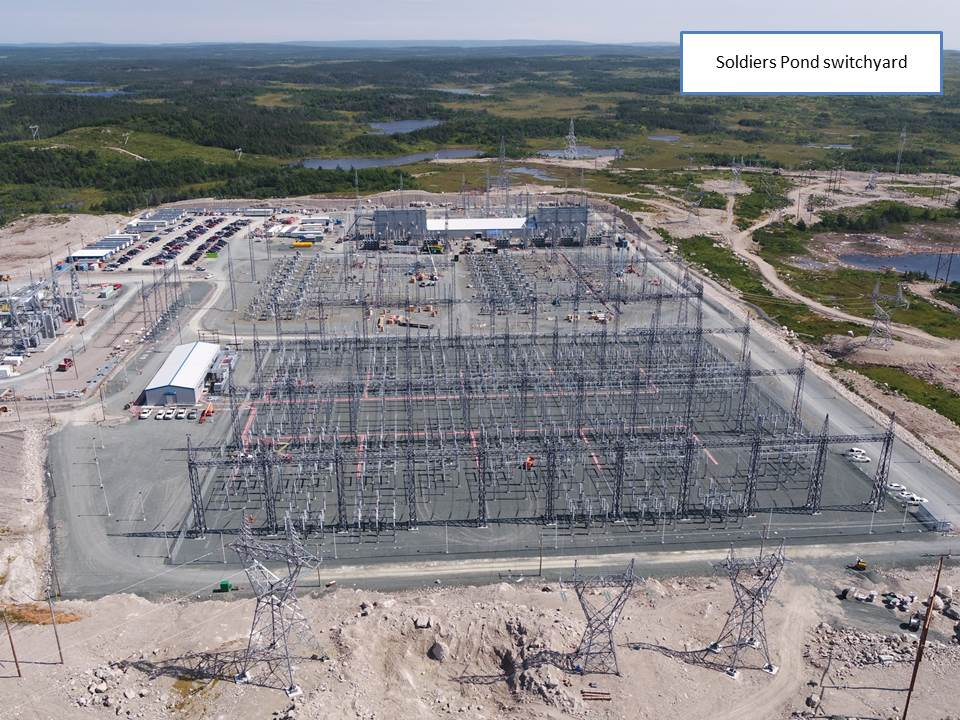 Soldiers Pond switchyard