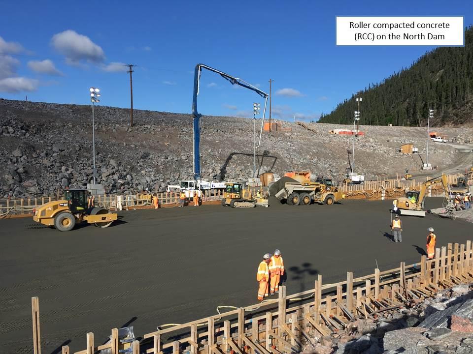 RRC work on the North Dam