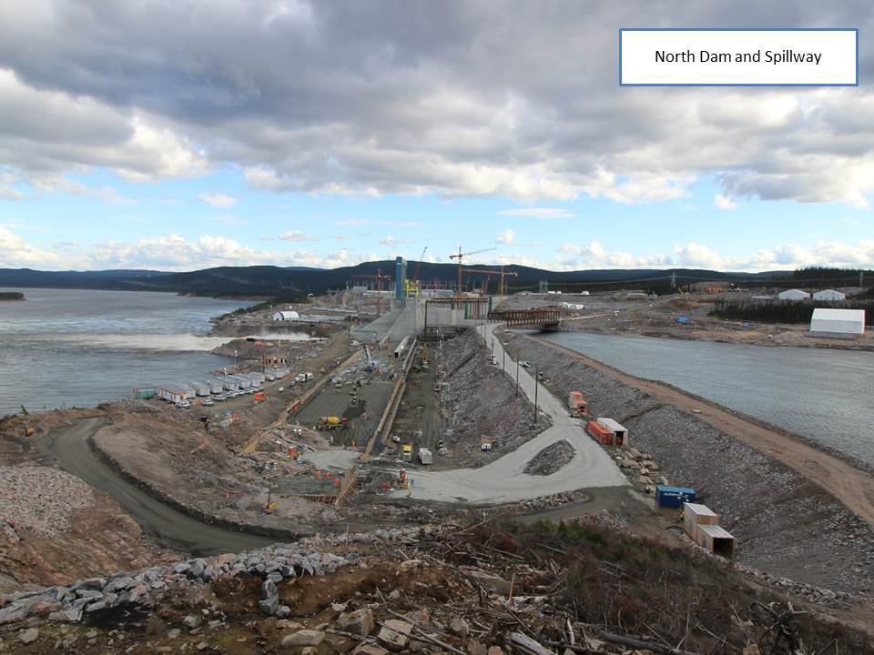 North Dam and Spillway