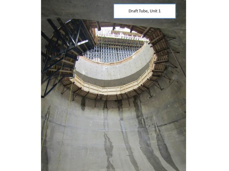Draft Tube, Unit 1