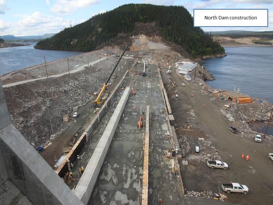 North Dam Construction
