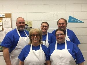 MY volunteers at pancake breakfast 2016