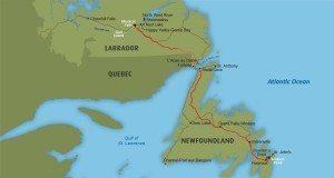 Labrador-Island Link Map