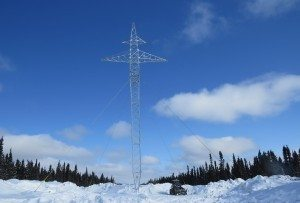 First DC structure installed for the Labrador-Island Link