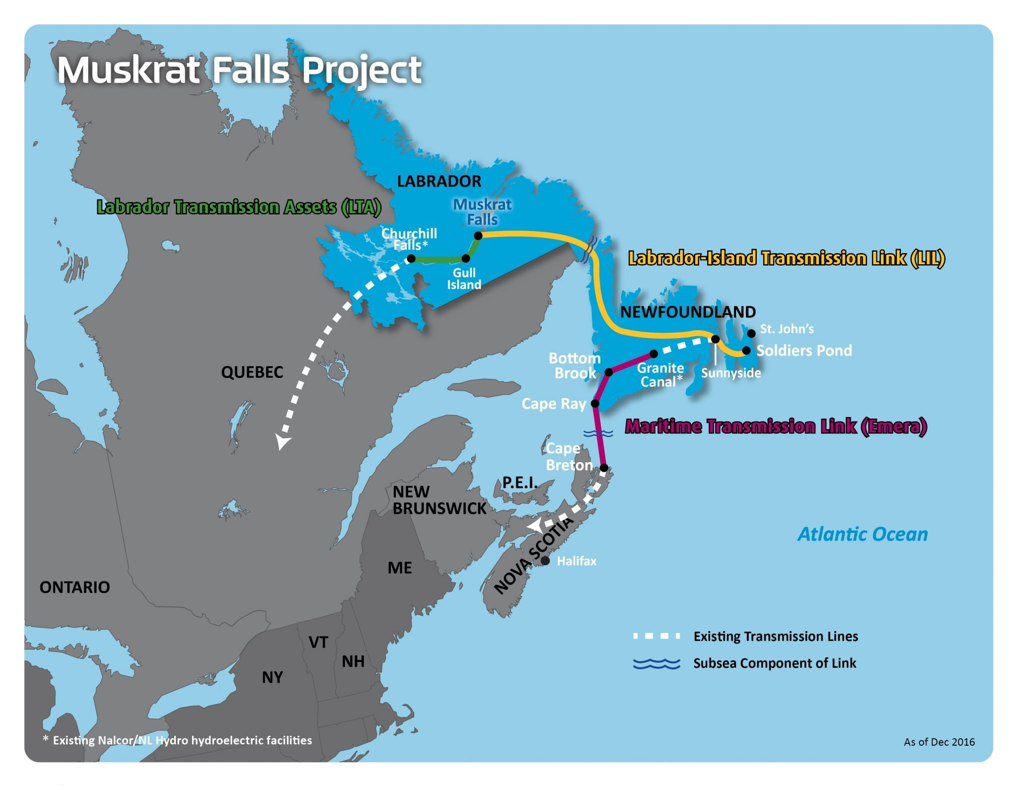 Muskrat Falls Map Information Sheets & Brochures | Nalcor Energy – Lower Churchill